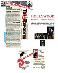Coupures de presse Hollywood
