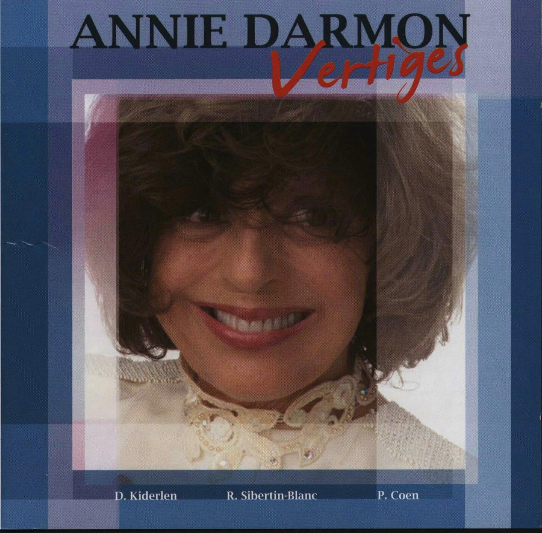 Annie Darmon CD Vertiges