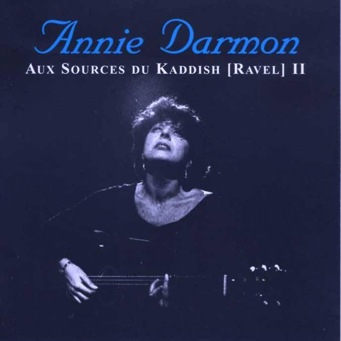 Aux sources du Kaddish disque Annie Darmon